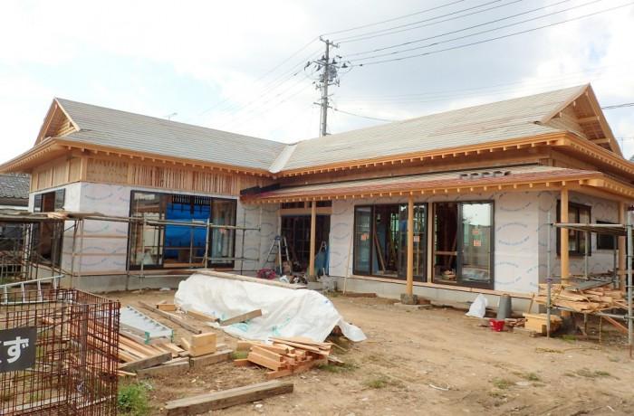植田の入母屋造り